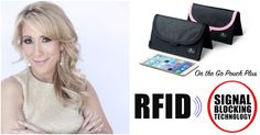 NEW! On-The-Go Pouch with Ultimate RFID Identity Theft Protection! QVC's Hottest Product! >> Limited Edition: All New Colors & Prints! (Set of 2)