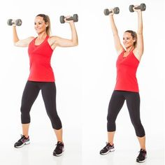 Get strong, sexy, toned arms with a pair of dumbbells and 5 minutes! We show you the best moves to target your shoulders, biceps and triceps so you can lose arm jiggle.