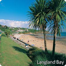 Langland Bay Swansea.