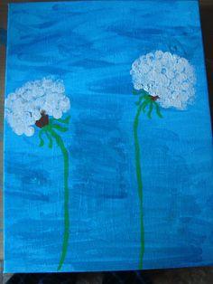 L´aminiti: Pusteblume malen ---> das kann sogar ein 3-Jähriger