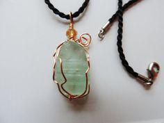 Sea Glass Necklace French Seaglass Genuine by LuckySeaGlassJewelry