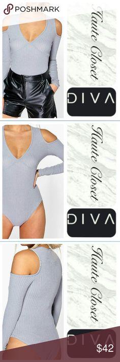 Spotted while shopping on Poshmark: Gray Bodysuit! #poshmark #fashion #shopping #style #Other