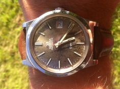 From my competition - a watch from one of my readers