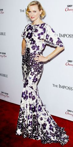 Naomi Watts's Best Red Carpet Looks - In Zac Posen, 2012 from InStyle.com
