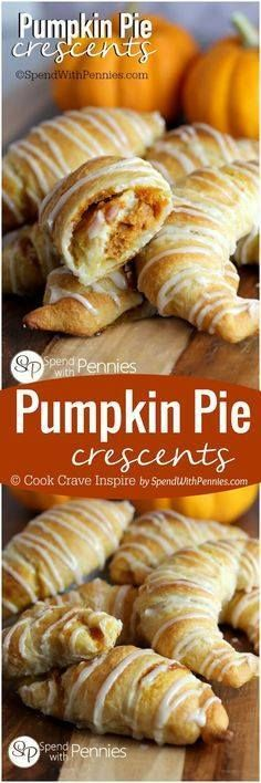 If you like Pumpkin If you like Pumpkin Pie youll love this...  If you like Pumpkin If you like Pumpkin Pie youll love this quick easy dessert hack! Pumpkin Pie Crescents give you all of the flavor of pumpkin pie fresh out of the oven in minutes! Recipe : ift.tt/1hGiZgA And My Pinteresting Life | Recipes, Desserts, DIY, Healthy snacks, Cooking tips, Clean eating, ,home dec  ift.tt/2v8iUYW