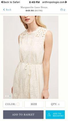 Tiny Marguerite Lace Dress
