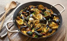 Simple Shellfish Paella