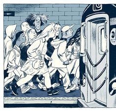 Raffinate Forceful Jillian Tamaki Illustrations and Stories