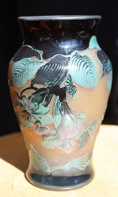 Vintage Emile Galle's French Art Vase
