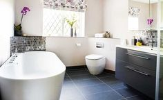 large bathroom with simple design