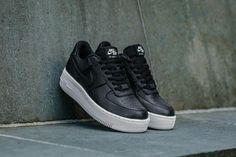 Nike Air Force 1 Upstep Black   White Shoes Black And White Nikes 240f0c39e