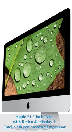 21.5 inch iMac with 4k Retina display