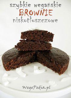 szybkie wegańskie brownie