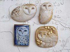 Owl 2 by margaretwozniak on Etsy