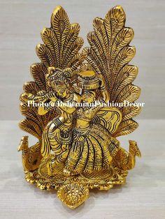 Radha Krishna Idols Darbar For Home Temple Puja Decorative | Etsy