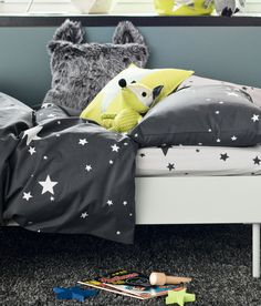 H Home Kids. Childrens are so happy that they deserve a colorfull place to be in. Decorate your children room with colorfull chandeliers, and a modern bed. See more home design ideas at www.homedesignideas.eu