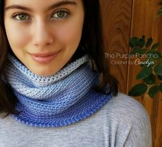 The Ombre Cowl is great for a beginner and makes a nice solid accessory, no holes, just warmth. Gently nestled around your neck, this will be a favorite go to cowl. The lovely, smooth transition of…