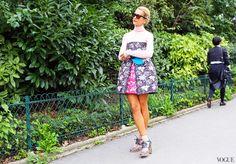 Street Style: Paris Fashion Week Spring 2014 Part 2 – Photos – Vogue - Vogue