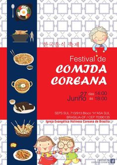 Festival de Comida Coreana em Brasília
