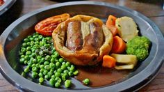 Toad in the Hole at The Leaky Cauldron at Universal Studios