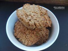Diós gluténmentes zabkeksz - reggelire, tízóraira? Gluténmentes kekszek