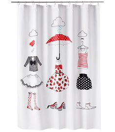 Shower curtain 9,95 €. Whish I'd need one.