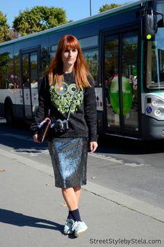 Sarah Moschini, Paris Fashion Week SS 2015