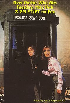 1996 Doctor Who Movie Postcard