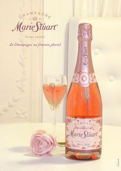 MarieStuart, Champagne, Brut Rosé, Annonce Presse, ID, 2013©markcom