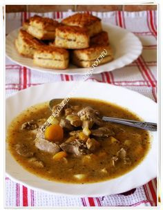 Hentesleves Sweet And Salty, Cheeseburger Chowder, Chili, Soup, Beef, Meat, Chile, Soups, Chilis