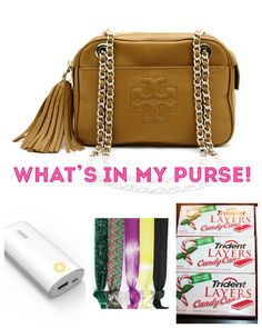 Sharing what my Purse essentials are! What's In My Purse, Purse Essentials, What's In Your Bag, Beauty Stuff, You Bag, Candy Cane, Fashion Outfits, Fashion Trends, Baby Items