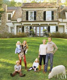 Suzanne Kasler Designs a Home at Tennessee's Blackberry Farm | Architectural Digest