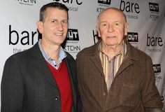 Golden Age playwright Terrence McNally was on hand to celebrate the opening of Bare with husband Tom Kirdahy.(© Miguel Munguia)
