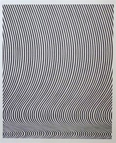 Untitled / Bridget Riley