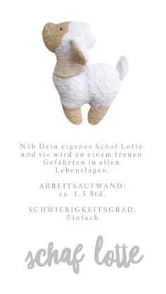 e-book: Sheep Lotte- e-book: Schaf Lotte The e-book contains the pattern and easy to understand, detailed sewing instructions with many illustrations. The sewing instructions are perfect for sewing beginners! How Do You Knit, Learn How To Knit, How To Start Knitting, Easy Knitting, Knitting For Beginners, Knitting Patterns, Diy Mode, Illustrations, Knitted Blankets