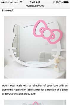 Hello Kitty frame for photo booth?