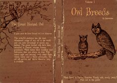 Owl Breeds Volume One FULL cover by Lost-in-Hogwarts.deviantart.com on @deviantART