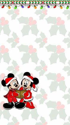 Find images and videos about wallpaper, xmas and mickey on we heart it - the app to get lost in what you love. Mickey Mouse Christmas, Mickey Mouse And Friends, Disney Christmas, Christmas Phone Wallpaper, Holiday Wallpaper, Pink Xmas Wallpaper, Mickey Mouse Wallpaper, Wallpaper Iphone Disney, Cool Wallpapers For Phones