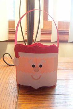 Santa Pillow Box Bucket