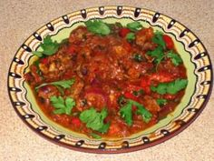 Говядина в томатном соусе (Кавказ)