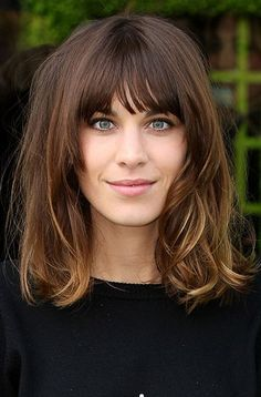 Image result for long bob with full bangs
