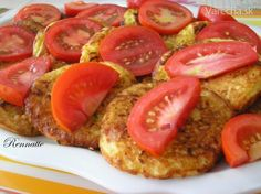 Bruschetta, Meatloaf, Zucchini, Sausage, Favorite Recipes, Lunch, Baking, Vegetables, Ethnic Recipes