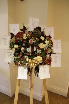 A Fabulous Fl Seating Plan Wedding