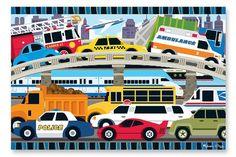 Melissa & Doug Traffic Jam Floor Puzzle 24 pc - 2 X3 24pc