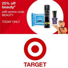 25% off + Free S/H on Beauty and Personal Care at Target  http://www.mybargainbuddy.com/target-coupon-beauty