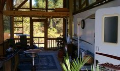 metal rv carports with living space - Google Search