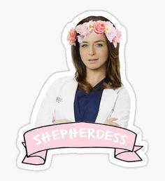 "Amelia ""Shepherdess"" Shepherd Sticker"