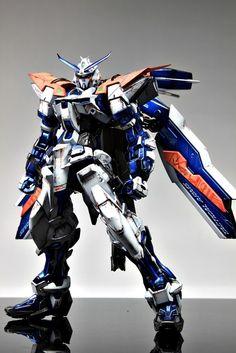 GUNDAM GUY: MG 1/100 Gundam Astray Blue Frame 2nd Revise - Customized Build