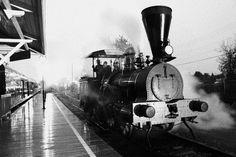 Trains en lumière / Illuminated Trains #exporail #trains #musée #museum
