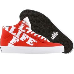 size 40 92918 f57ec ALIFE Women Everybody High Cross - Canvas (red)